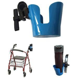 Universal-Drink-Cup-Holder-for-Wheelchair-Walker-Rollator-Bike-Stroller-Blue