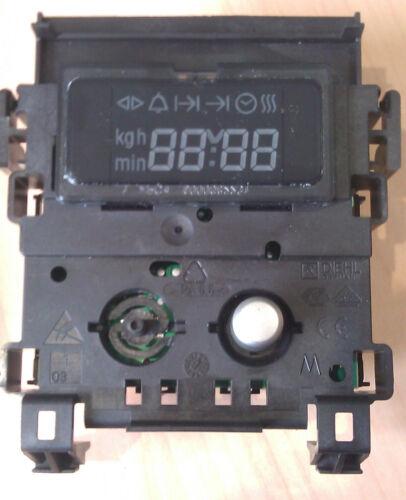 B15M52N3GB OVEN DIGITAL TIMER GENUINE BUTTON NEFF B12S32N3GB B12S.15