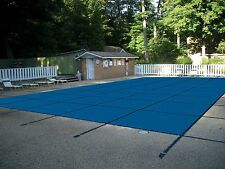 Water Warden Mesh Safety Pool Cover All Sizes Blue Green 15 Yr Warranty