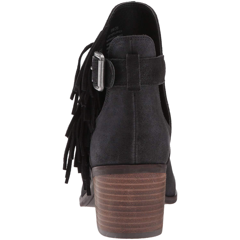 Lucky Brand Botines para mujer de flecos Makenna (Negro, (Negro, (Negro, 6M) 551e60