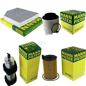 Mann-Filter-paquete-audi-a5-Sport-back-8ta-3-0-tdi-quattro-cabriolet-8f7-8t3-sq5