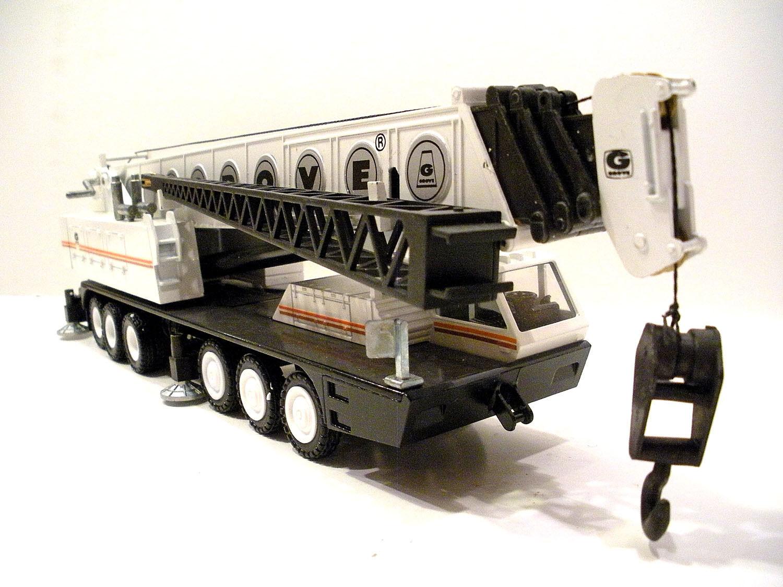NZG 152 Grove TM1500 Grue Mobile-Blanc 1 50 Die-Cast LN