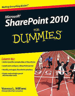 SharePoint 2010 For Dummies by Williams, Vanessa L.