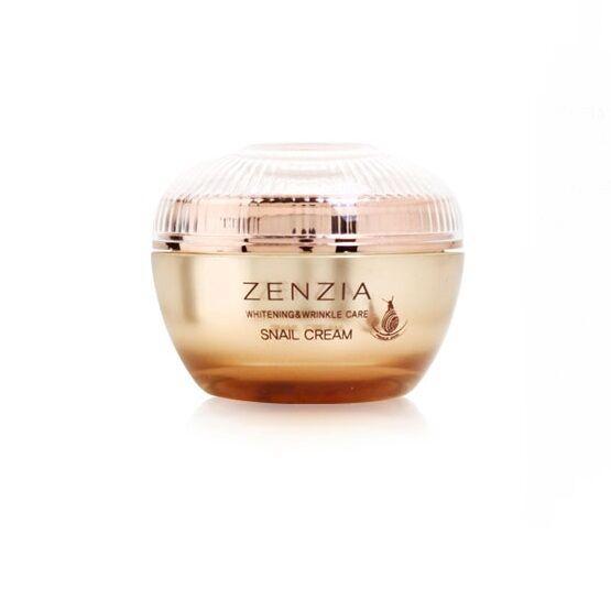 Zenzia Snail Cream Whitening & Wrinkle Care 100ml Brand New Free Shipping
