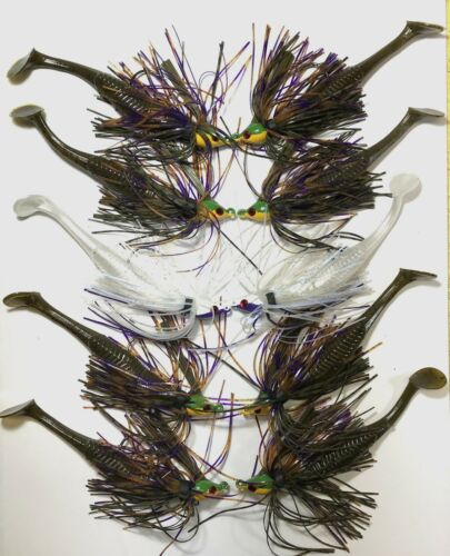 5 5//16 /& 5 3//8  with detailed instructions Bass Jig  Finesse 10 total