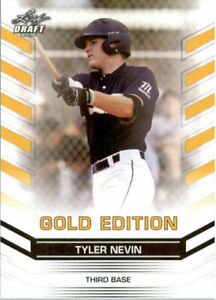 034-Rare-034-Tyler-Nevin-2015-Feuille-Draft-034-or-Edition-034-Carte-Rookie