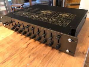 PARTING-OUT-EQUALIZER-TECHNICS-10E-SH-9010-E-KNOB-FACEPLATE-BOARD-POTS-ECT