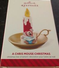 Hallmark Ornament 2014 Limited Edition a Chris Mouse Christmas
