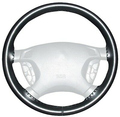 Wheelskins WS10201X Genuine Leather Black Size AX Steering Wheel Cover