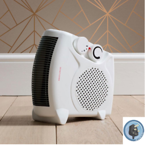 Silent Electric Fan Heater Hot & Cold