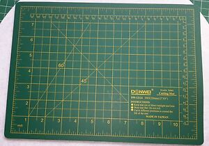 Self-Healing-Double-sided-Rotary-Knife-Cutting-Mat-A4-9-x12-One-Piece
