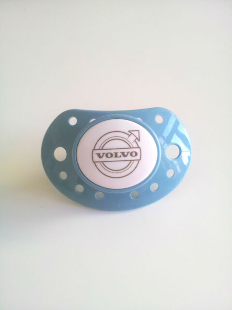 BLUE Genuine Volvo Baby Dummy / Pacifier / Soother (Novelty Merchandise)