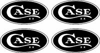 4 Case Xx Knife Oval Decals Free Shipping