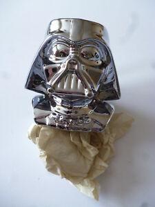 Star Wars Metalized Figural Mug Darth Vader Boxed With Certificate 20th Anniv... RafraîChissant Et BéNéFique Pour Les Yeux