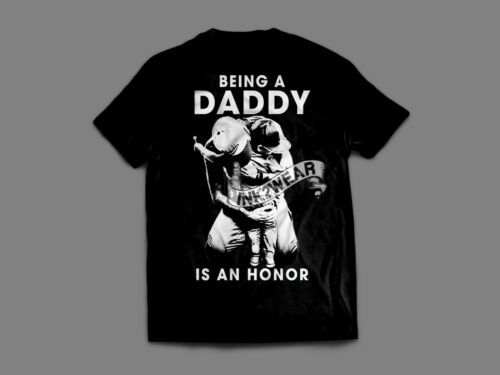 """Being a Daddy Proud Dad Single Daddy,/"""" Printed on the back side/"""" Divorce Daddy"""