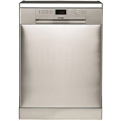 NEW Omega Stainless Steel Freestanding Dishwasher 2 Year 2.5 Star ODW702XB