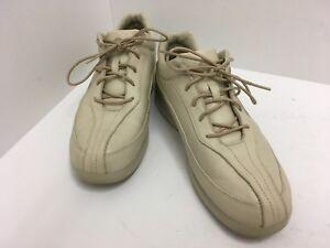 6caf1a083fd9 Brooks Motion Women s Size 10 D Wide Beige Leather Walking Shoes ...