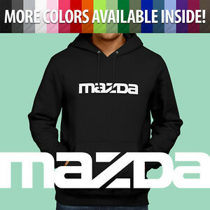 Pullover Hoodie Jacket Hooded Sweater Mazda Mazdaspeed 3 6 Protege RX7 RX8 Miata