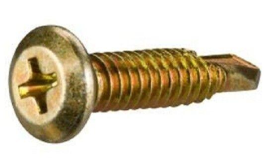 Clipsal SELF DRILLING SCREWS Wafer Head 500Pcs Aust Brand- 10x22mm Or 10x30mm