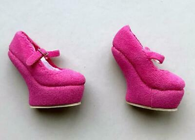 "16/"" FR~Mod*ern Love Tulabelle Hot Pink Faux Suede Platform Mary Jane Shoe~LE 400"