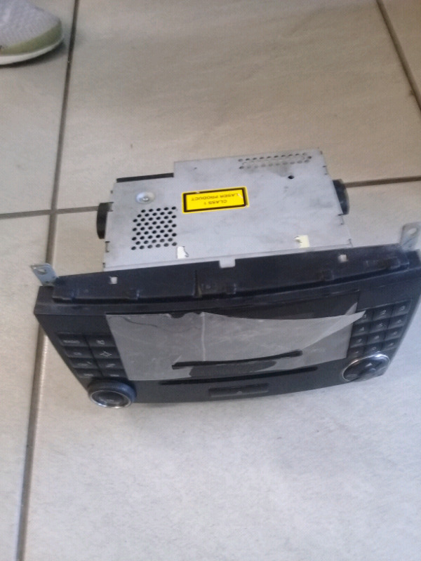 Mercedes W203 Front CD Player