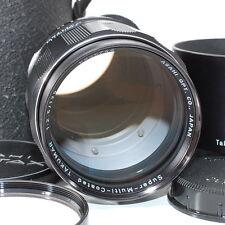 Pentax Super Multi Coated Takumar 135mm f/2.5 M42 6 Element [Rare Near Mint]