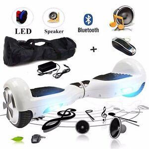 """6.5"""" hoverboard swegway avec haut-parleur bluetooth & ce approuvé chargeur"""
