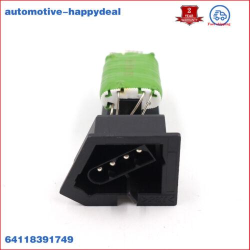 Nuevo Ventilador Calentador//Motor Del Ventilador Resistor Para BMW 3 Series E36//M3 64118391749