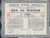 Compagnie Générale Aéropostale, Bon De 1935 (ex-air France) (i)