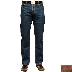 Herren Hose Stonewash Jeans Lee L8124446 Brooklyn Dark Comfort wqwY7UB
