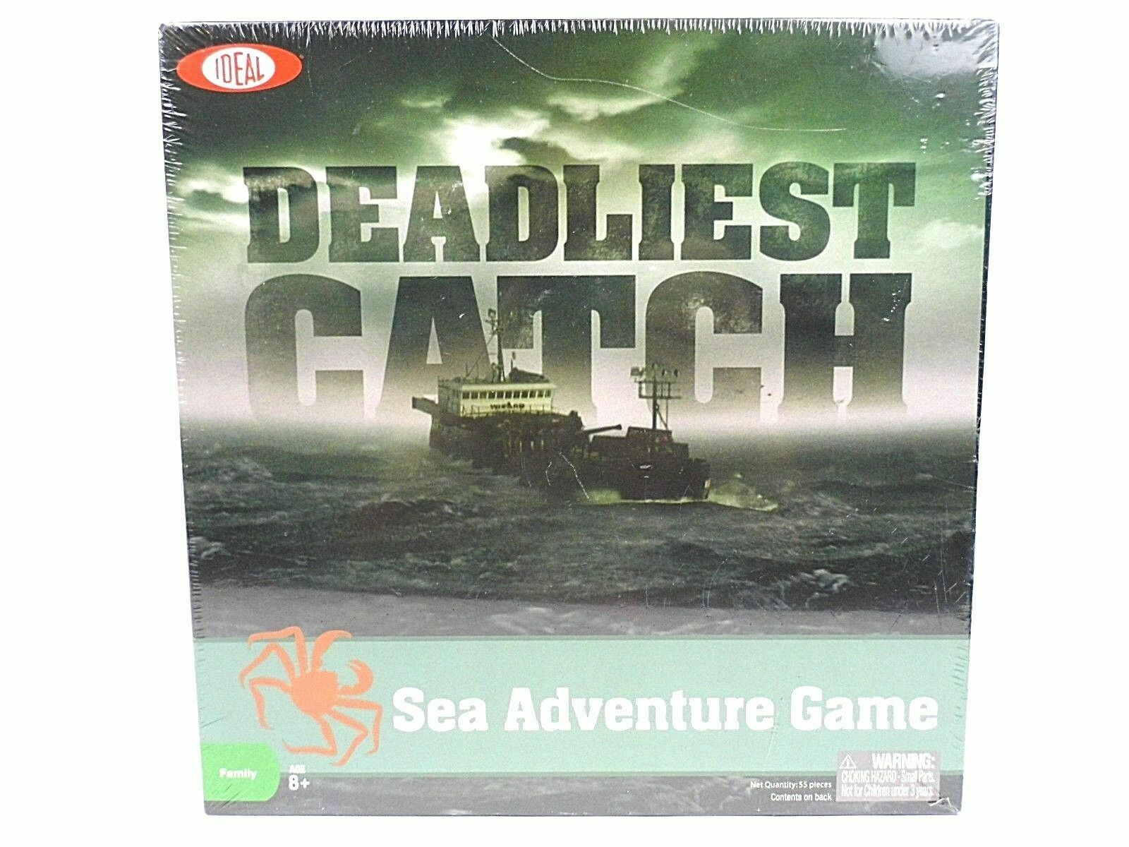 Deadliest Catch Sea Adventure Board Game Discovery Channel Ideal 2010 NEW