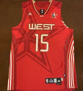 9d8a5f3a8 Rare Vintage Adidas NBA Denver Nuggets Carmelo Anthony 2010 All Star ...