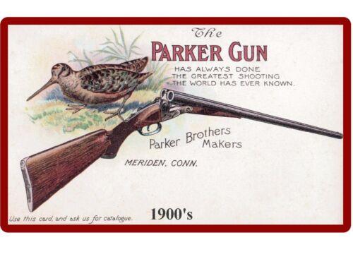 Meriden Connecticut Parker Brothers Gun Ad  Refrigerator Tool Box Magnet NEW!
