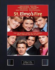 St Elmo's Fire Version 1 Photo Film Cell Presentation