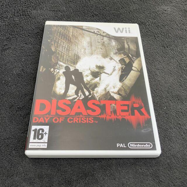 Nintendo Wii Disaster : Day of Crisis FRA CD état neuf