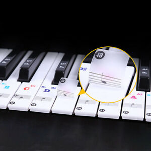 Keyboard-Piano-Stickers-88-61-54-Keys-Sticker-Transparent-Note-For-Learner-Decal