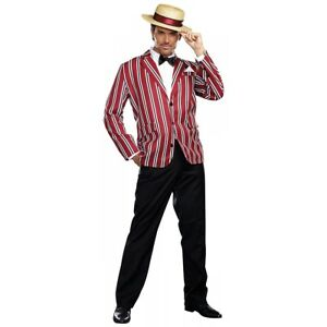 1920s Mens Costume Adult Roaring 20s Great Gatsby Halloween Fancy