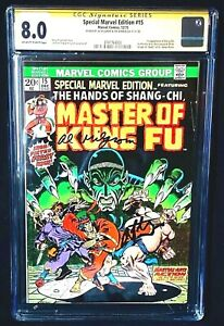 Marvel-Special-Edition-15-CGC-SS-8-0-SIGNED-x2-Starlin-Milgrom-1st-Shang-Chi
