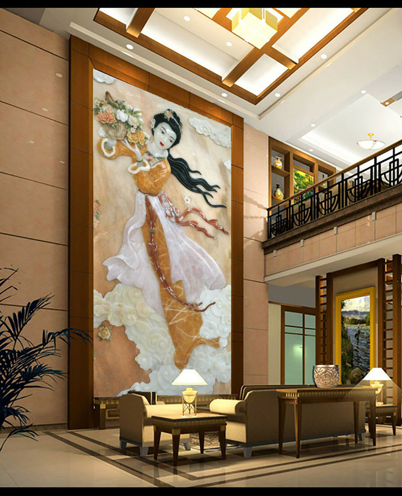 3D Classical Beauty 78 Wallpaper Mural Wall Print Wall Wallpaper Murals US Carly