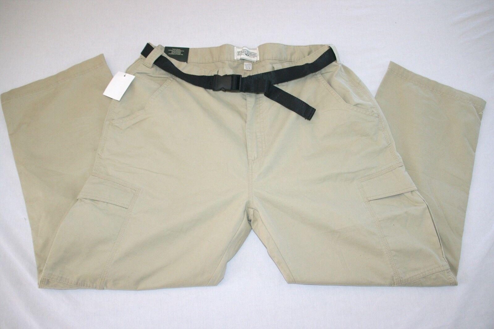 Field & Stream Adventurer Cargo Pant Men 40x30 Beige NEW