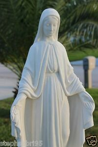 Image Is Loading VIRGIN MARY CONCRETE STATUE BLESS MOTHER GIFT RELIGIOUS
