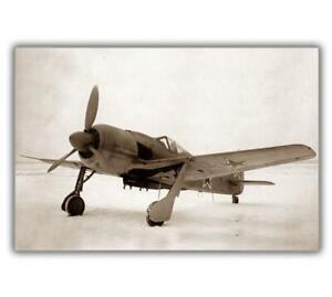 War-photo-German-fighter-Focke-Wulf-FW-190A-8-Germany-WW2-Size-034-4-x-6-034-inch-J