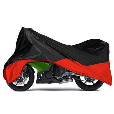 L Black Waterproof Motorcycle Cover For Suzuki GS GSXR GSX-R 600 750 1000 1100