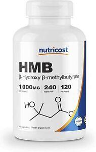 Nutricost-HMB-1000mg-240-Caps-PREMIUM-Quality-BEST-Value