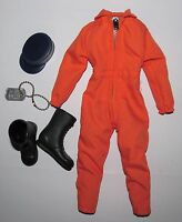 Action Man 40th Anniversary Ww2/wwii U.s. Pilots Uniform & Dog Tag (ap)