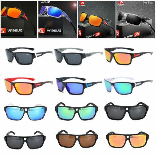 DUBERY Polarized Sunglasses Mens//Womens Cycling Sport Driving Fishing Eyewear