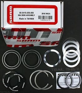 SRAM-Truvativ-BB30-Bottom-Bracket-Cupset-Crank-Bearings-Assembly-Kit-Direct-Fit