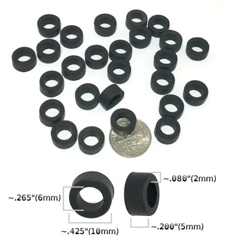 Details about  24 BTO HO Scale French Rubber FRONT TIRES fit Variety of Slot Car EARLY TYCO etc