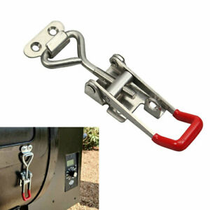 Quick-Toggle-Clamp-Stainless-Steel-Latch-Cabinet-Lock-Clamp-Hasp-Handle-Tool