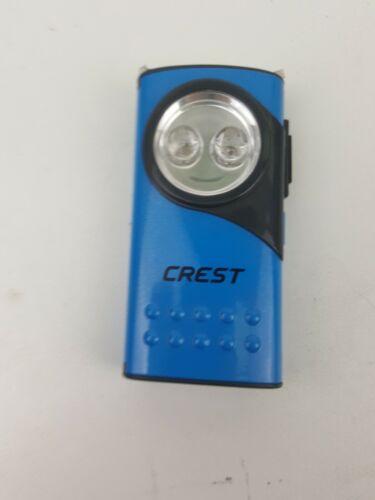 LED LIGHT CREST POCKET BELT CLIP PORTABLE CAMPING TORCH SUPER BRIGHT IPOCKET